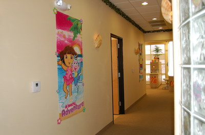 Hallway - Pediatric Dentist in Las Vegas and Henderson, NV